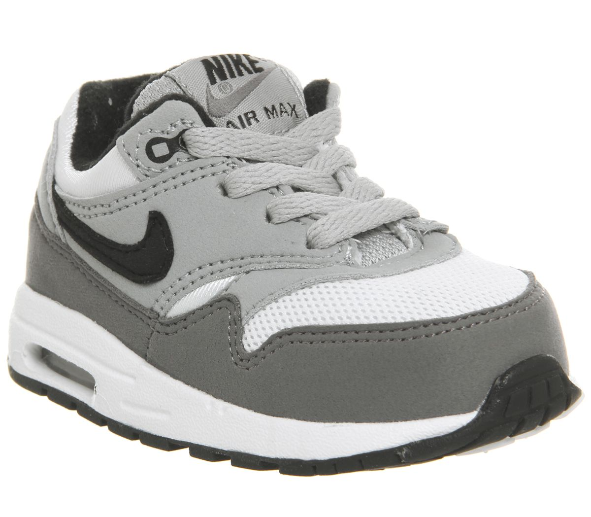 info for 533de 5cfae Nike Air Max 1 Td White Black Wolf Grey Gunsmoke - Unisex