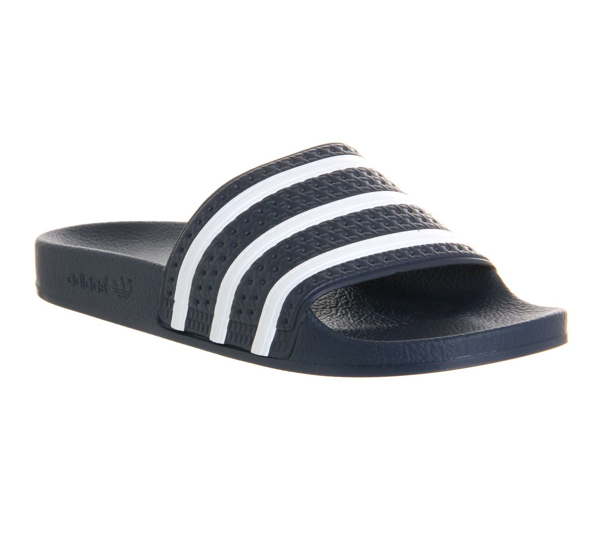 huge selection of 2c123 181bf adidas Adilette Sliders Navy White - Sandals