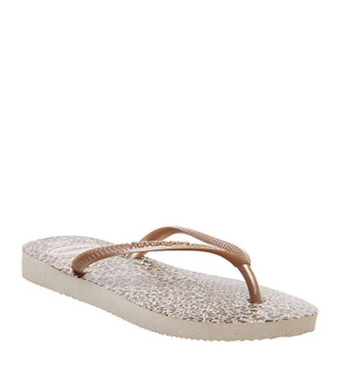 9df2d707469 Havaianas Slim Fashion Kids Flip Flops Coral Leopard. £19.99. Quickbuy.  11-03-2019