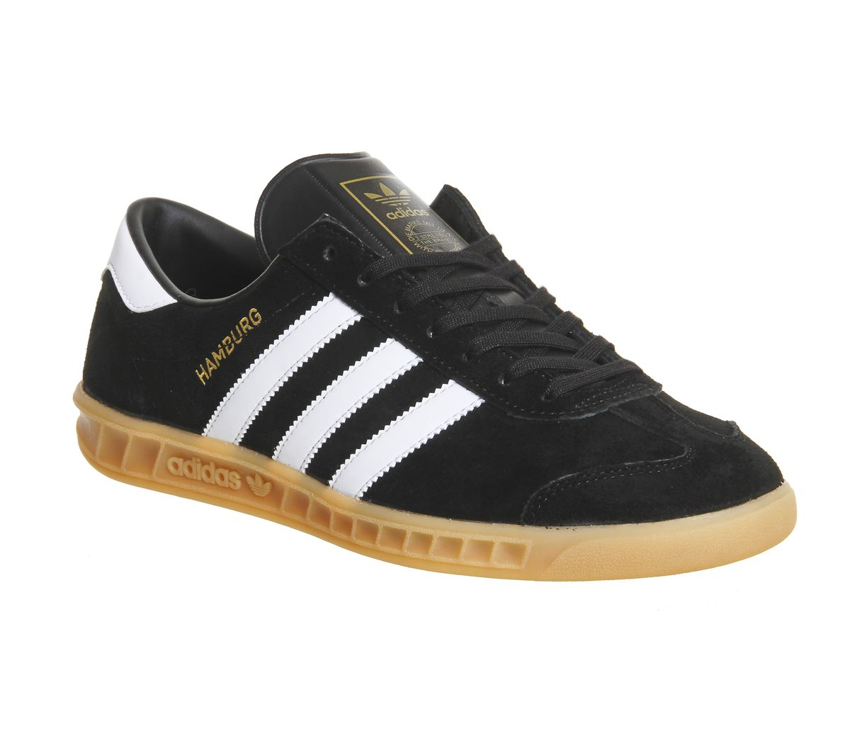 ec3177cc7bf Adidas Hamburg Black Gum - His trainers
