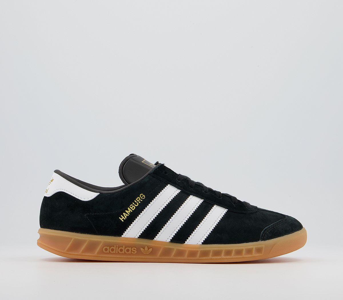 dd916a683aac Adidas Hamburg Black Gum - His trainers