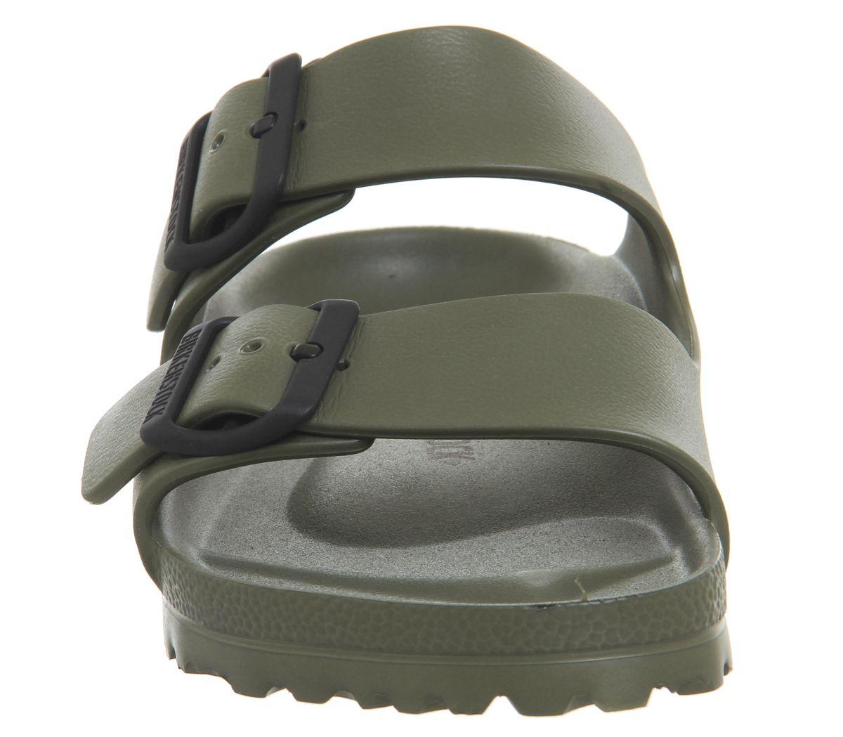 201994f25 Birkenstock Arizona Two Strap Khaki Eva - Sandals
