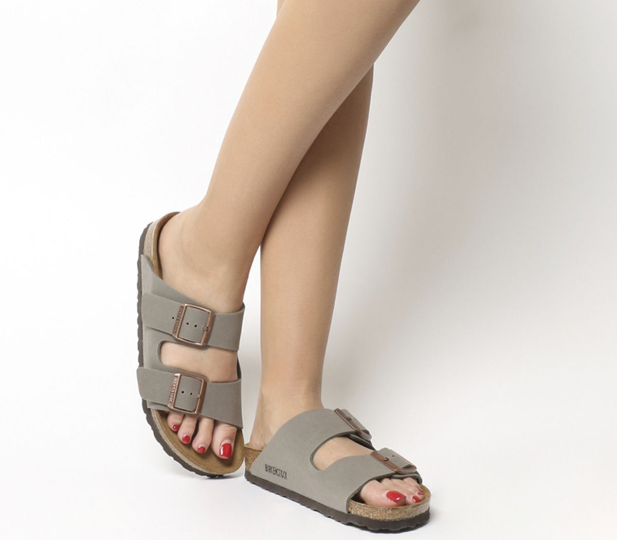 b7ea3ac37 Birkenstock Arizona Two Strap Stone - Sandals