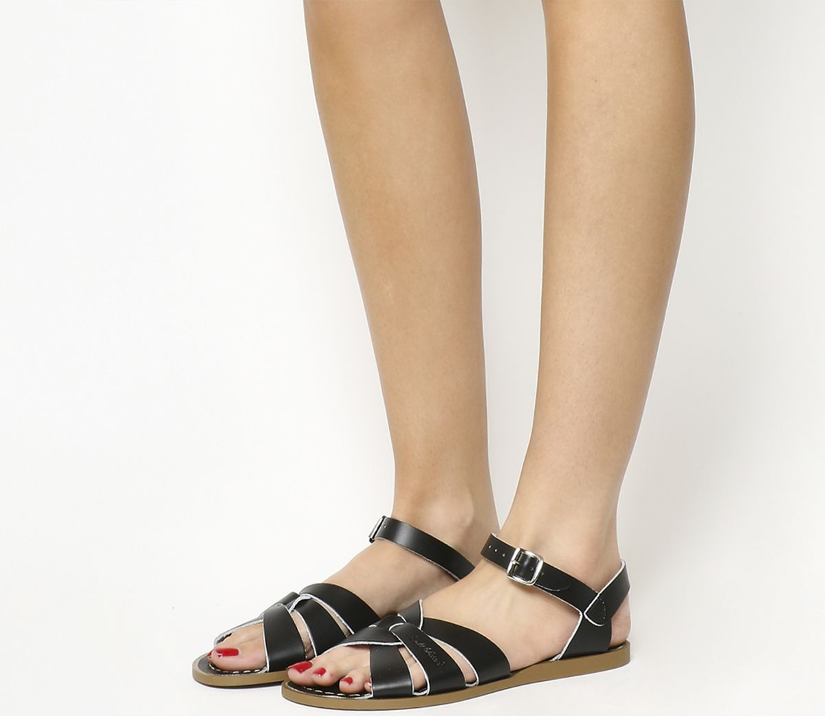 1991f0951c96 Salt Water Original Sandals Black Leather - Sandals
