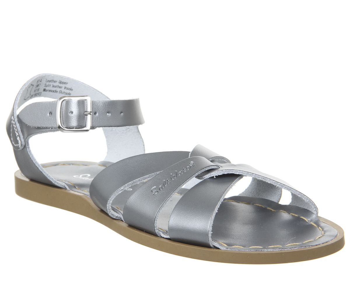 953e9f60237f3 Salt Water Salt Water Original Sandals Pewter - Sandals