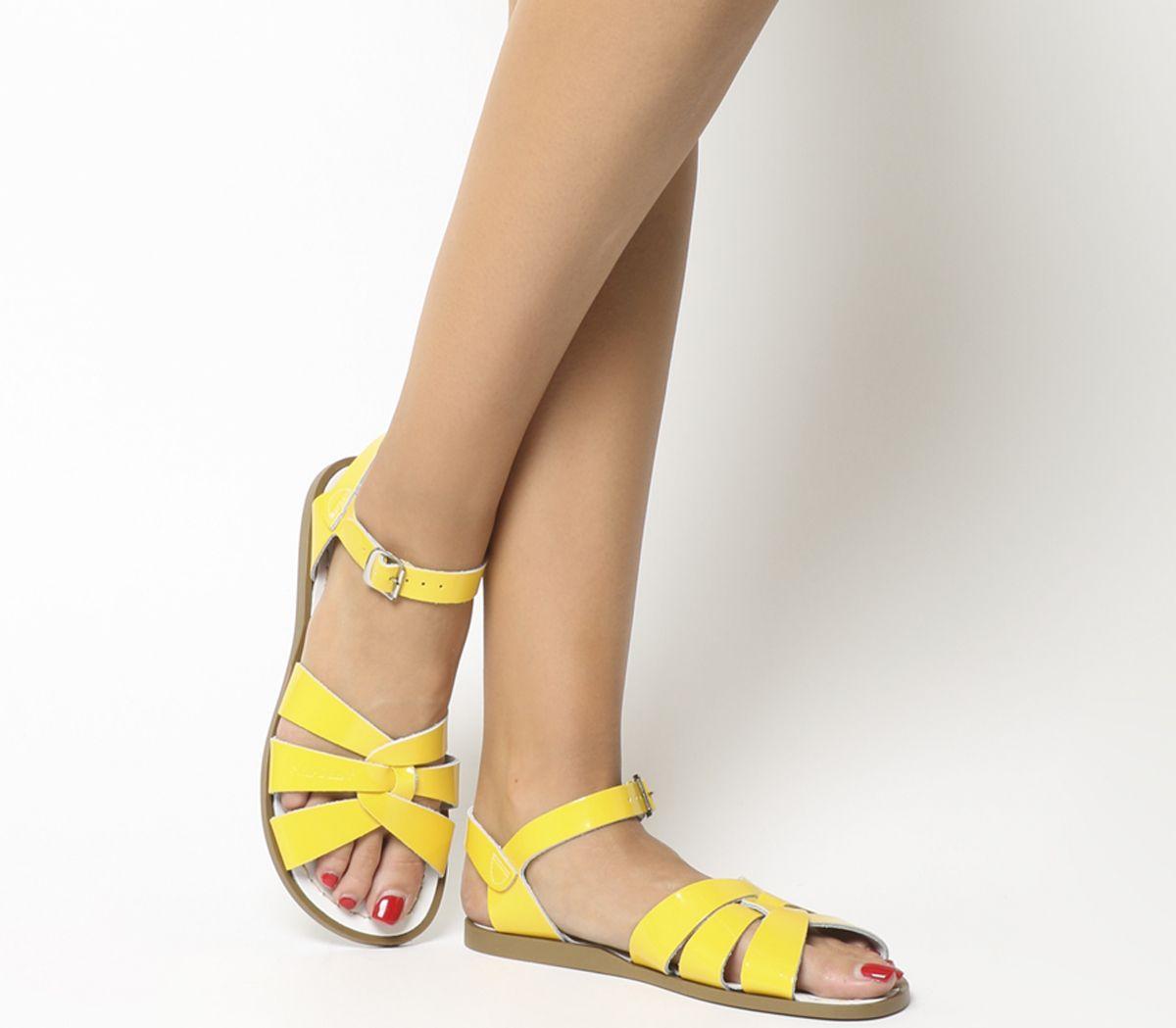 b233c8d1bf6 Salt Water Original Sandals Yellow Patent - Sandals