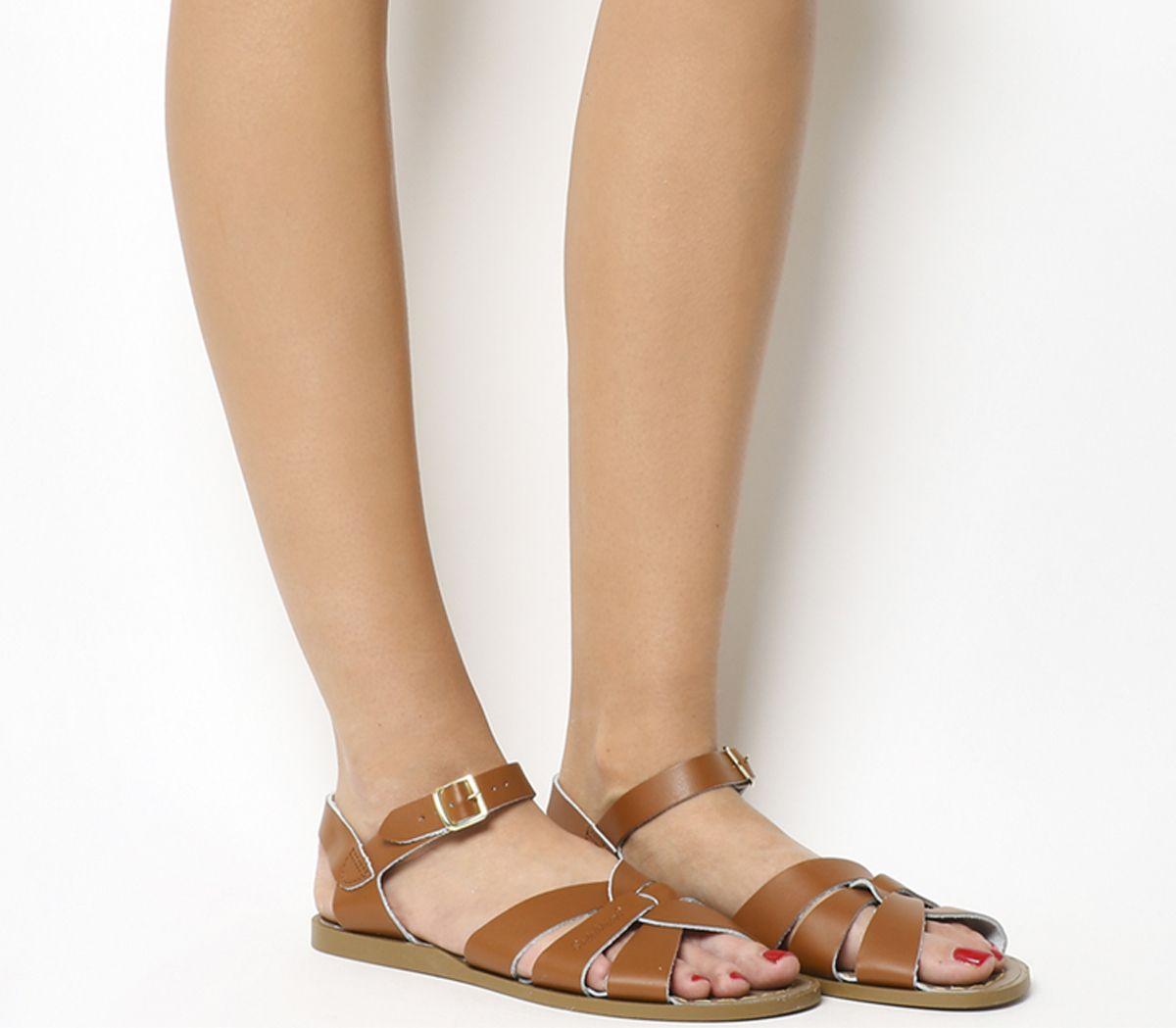 d9ba3a00b16 Salt Water Original Sandals Tan Leather - Sandals