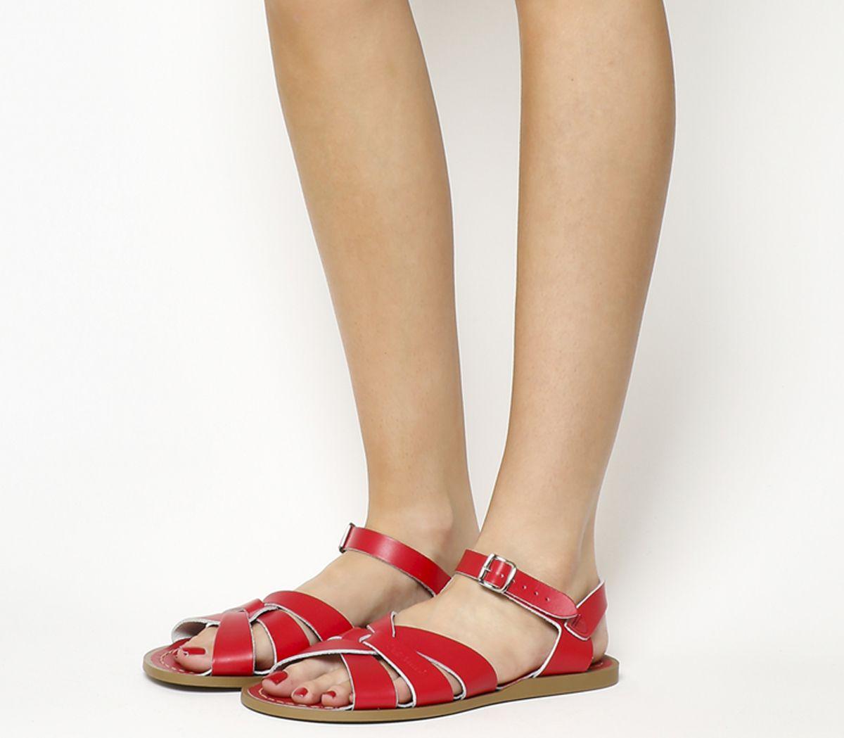 bde13dec93096 Salt Water Original Sandals Red Leather - Sandals