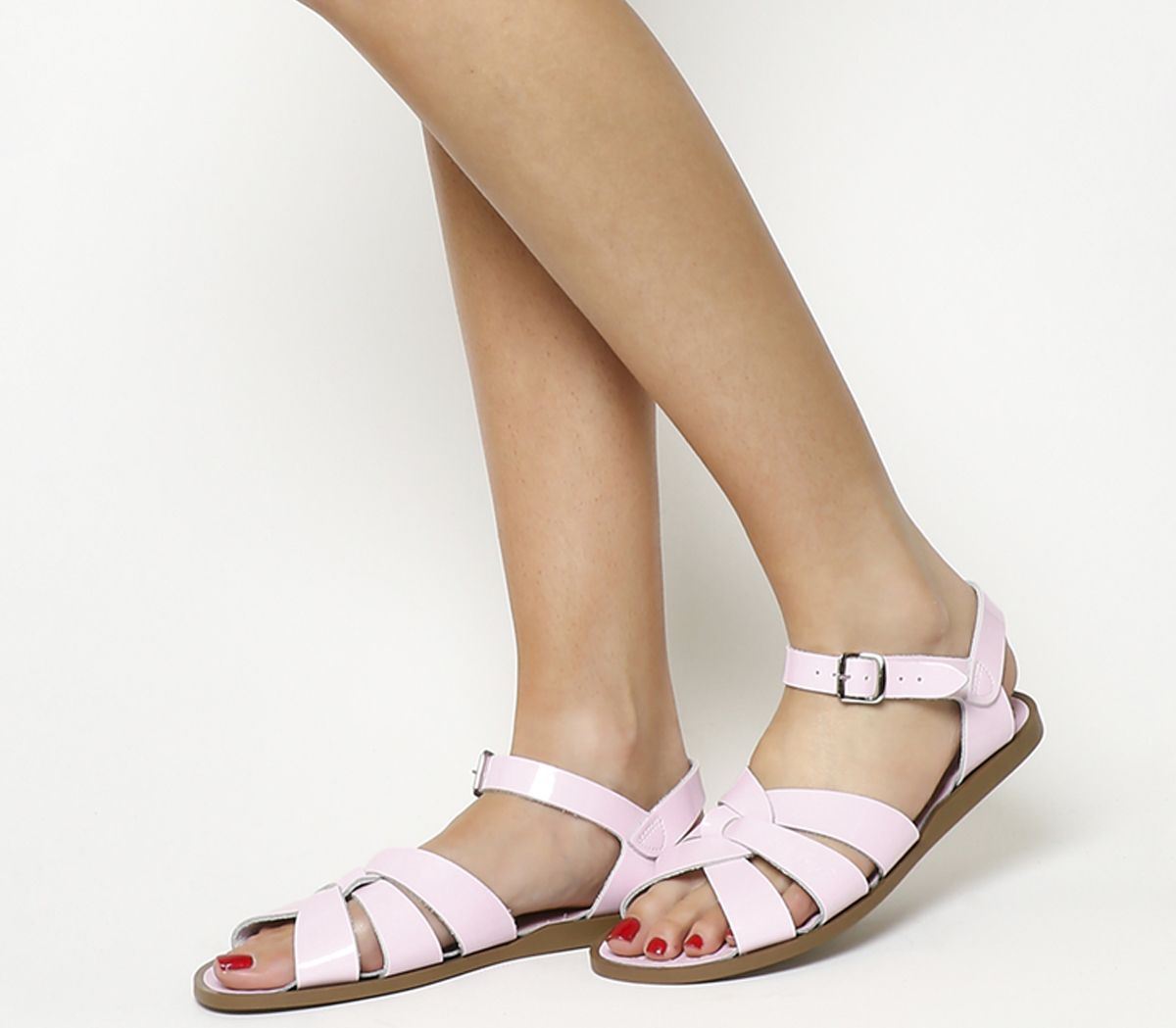 e31bb6be85153 Salt Water Salt Water Original Shiny Pink Patent - Sandals