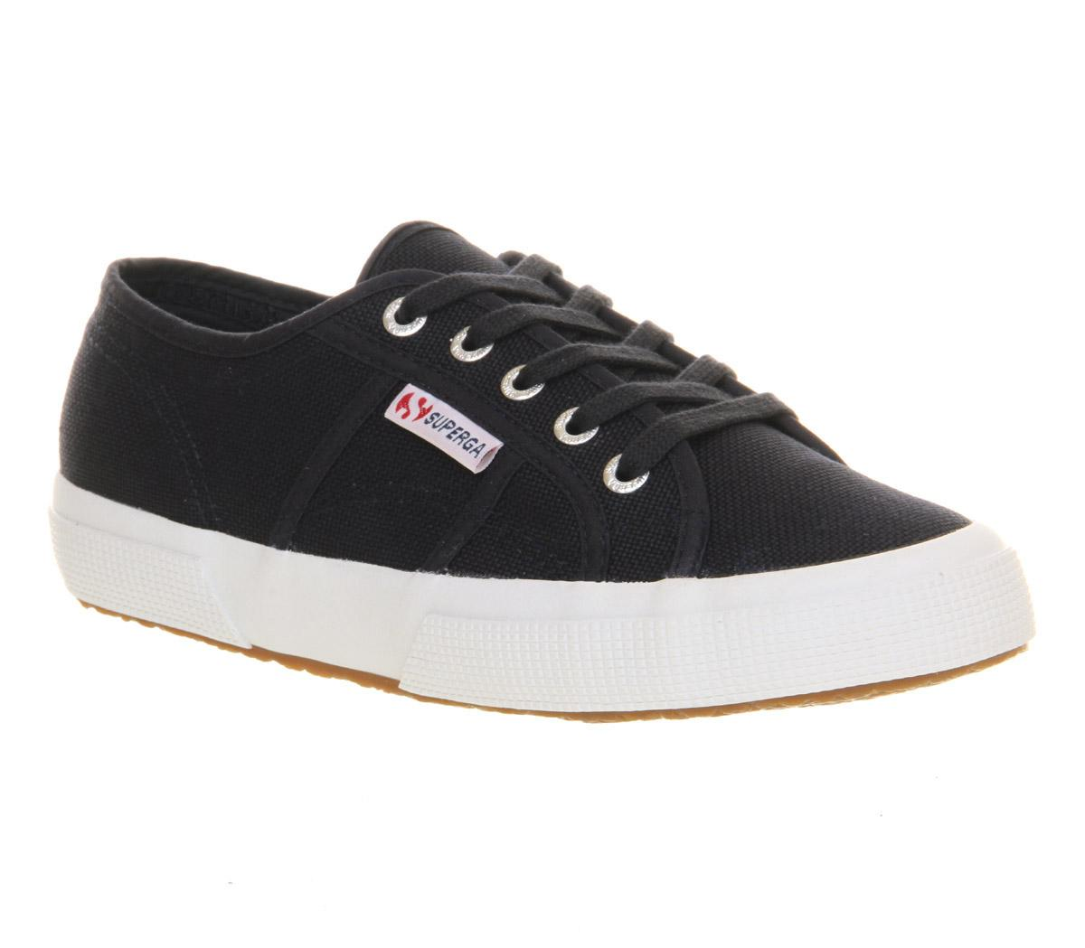 baf56b4a1e5a32 Superga 2750 Trainers Navy White - Office Girl