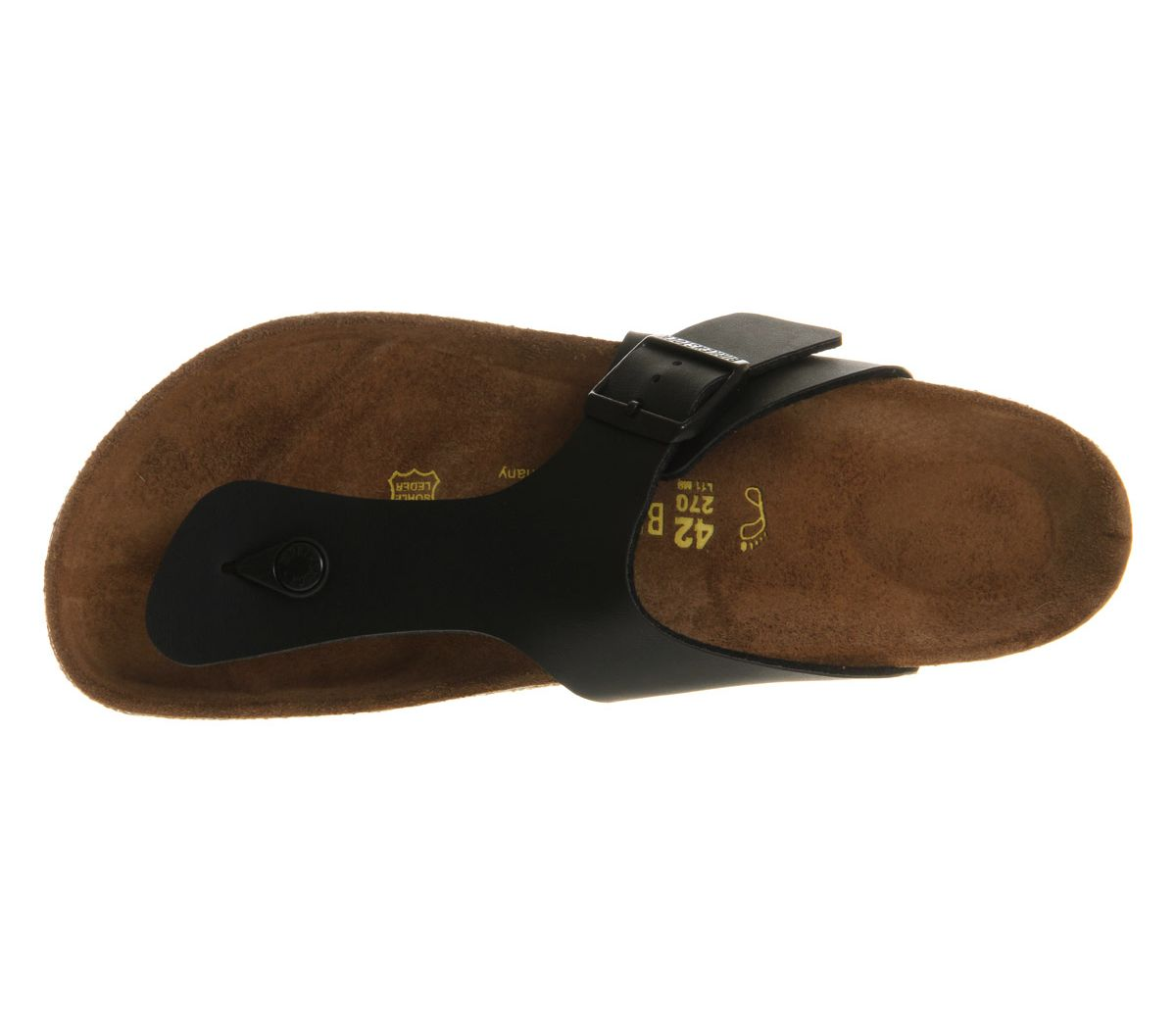 37f4b63e8ed Birkenstock Ramses Thong Sandals Black - Sandals