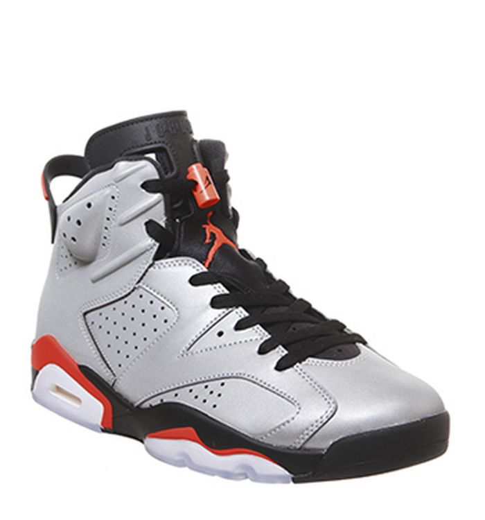 cheaper 3bcd5 6948d Launching 08-06-2019. Jordan Air Jordan 6 Trainers Reflect Silver Infrared  Black. £170.00