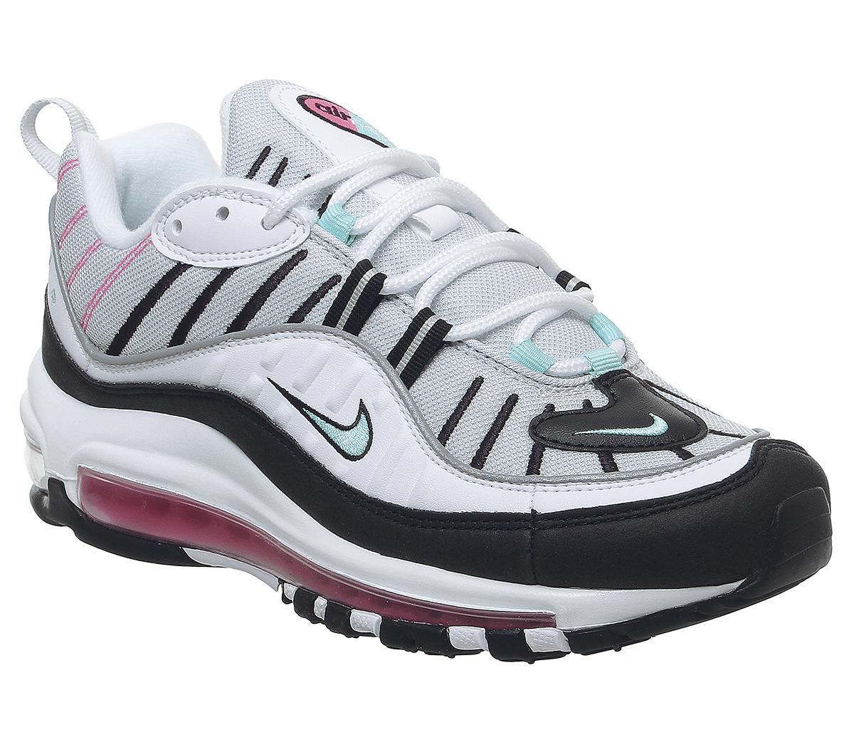 Nike Air Max 98 Trainers Pure Platinum