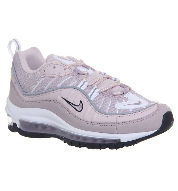 7a166d46f9 Air Max 98 Trainers; Nike, Air Max 98 Trainers, Barely Rose Elemental Rose  Particle Rose ...