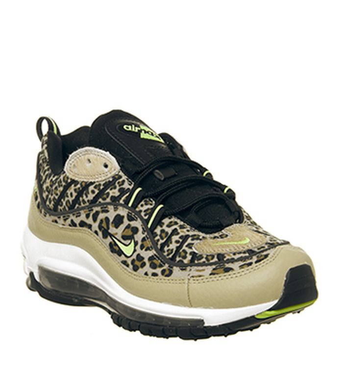 premium selection 4e292 2999a Launching 02-02-2019 · Nike Air Max 98 Trainers Desert Ore Wheat Leopard