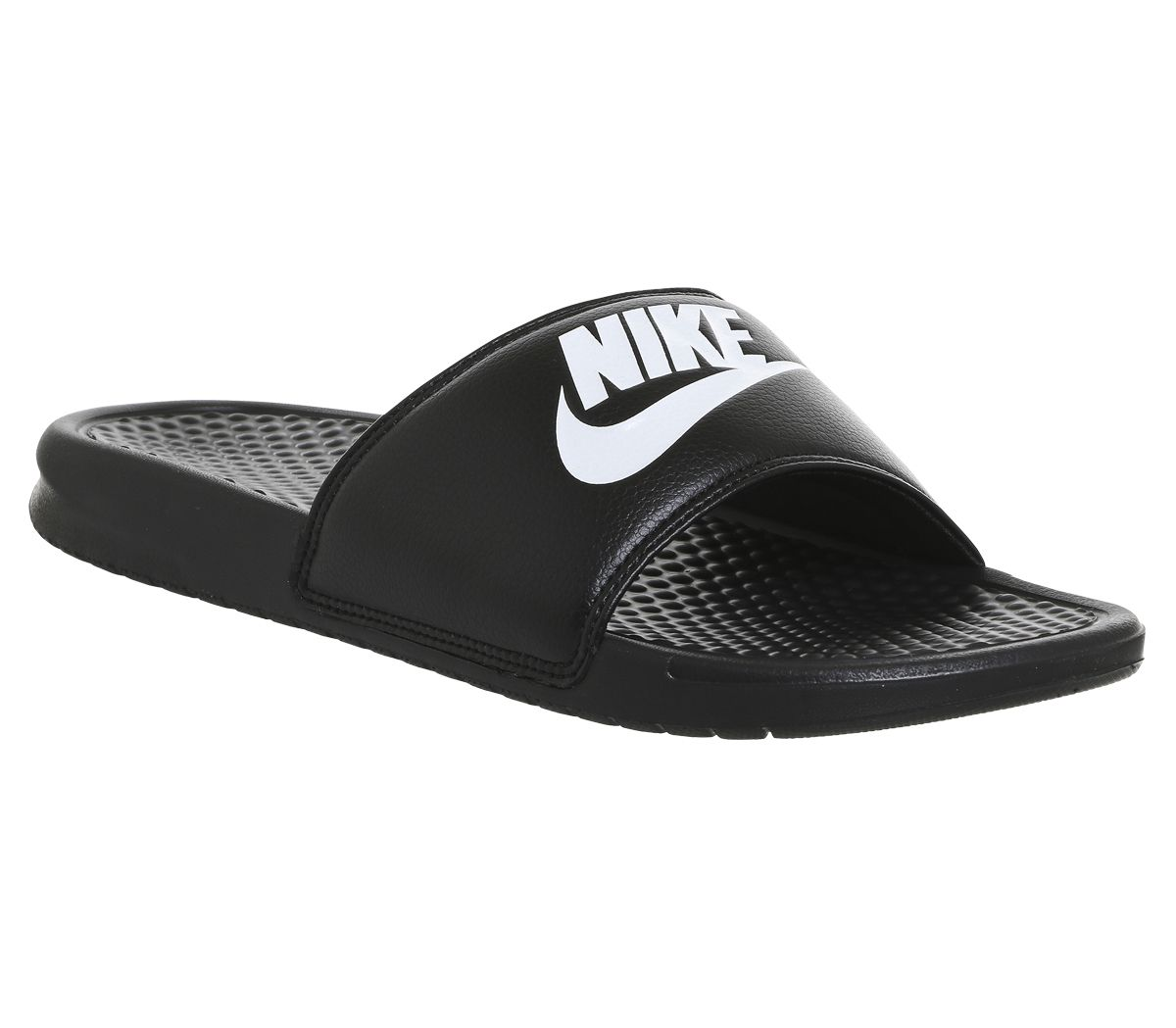 479232811 Nike Benassi Slide Black White - Sandals