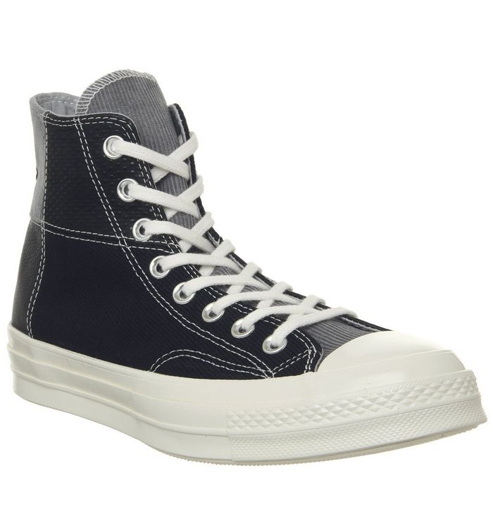 51f5468e48bfea Converse All Star Hi 70 s Trainers Black Cool Grey - His trainers