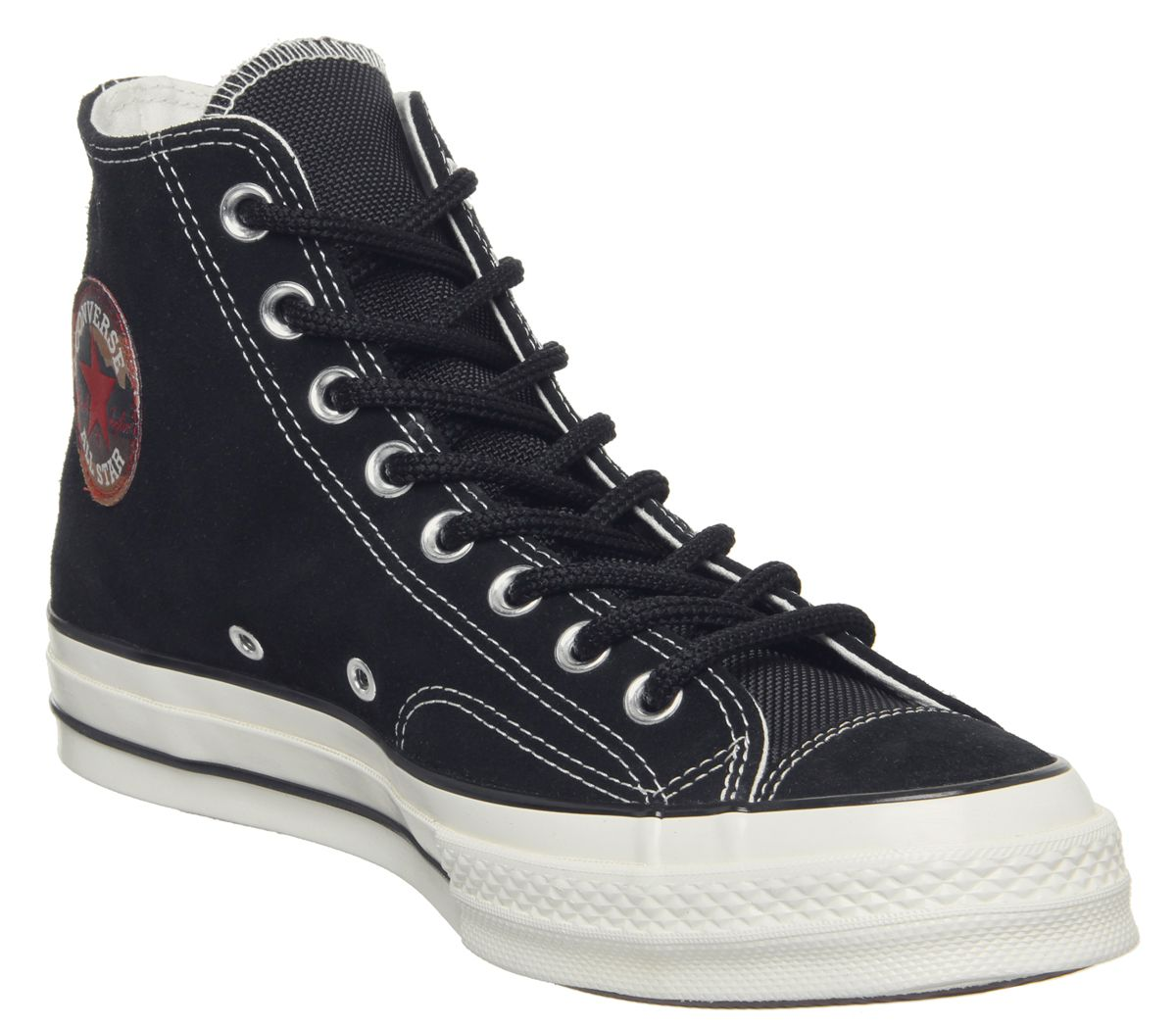 a7c17949aaa61b Converse All Star Hi 70 s Trainers Black Egret Patch - Unisex Sports