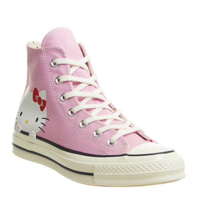 14071cb806b7d Converse All Star Hi 70 s Trainers Pink Hello Kitty - Hers trainers