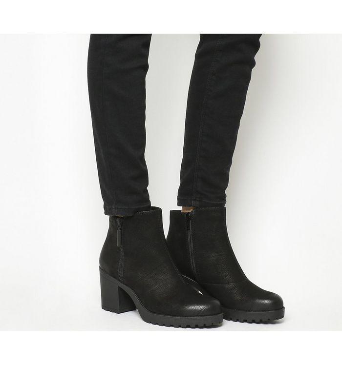 280f880c62d Vagabond Grace Heeled Chelsea Stone Nubuck - Ankle Boots