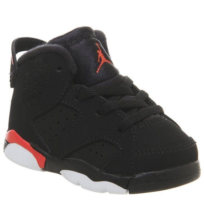 2a2d88407d36 Jordan Air Jordan 6 Td Trainers Black Crimson - Unisex