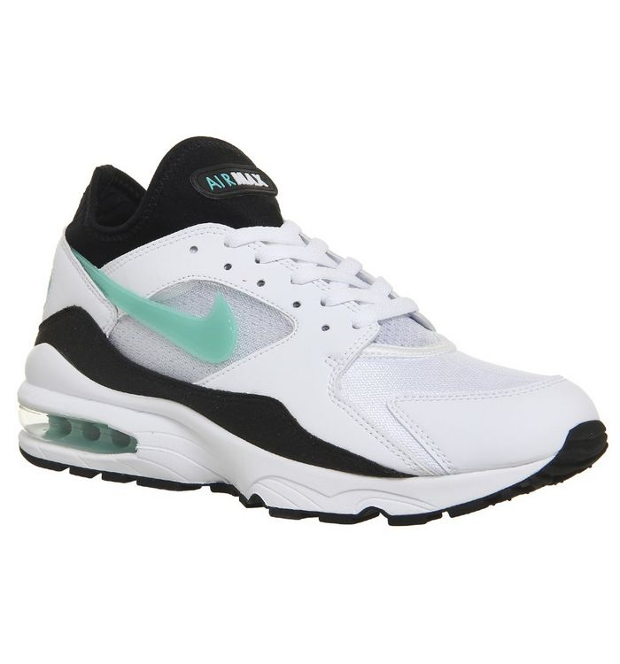 official photos 9d4b5 1d033 Air Max 93 Trainers  Nike, Air Max 93 Trainers, White Sport Turquoise M ...