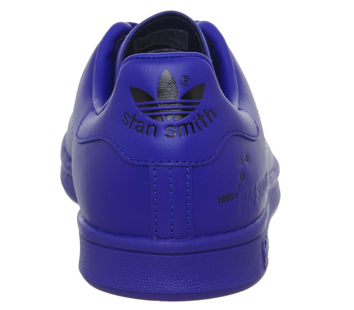 adidas Raf Simons Raf X Stan Smith Po Blue Ink Unisex Sports