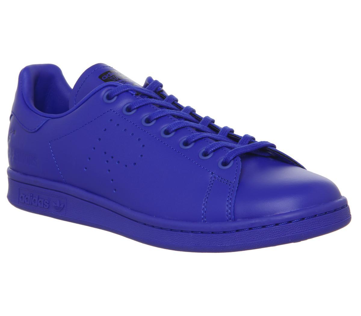 adidas Raf Simons Raf X Stan Smith Trainers Po Blue Ink