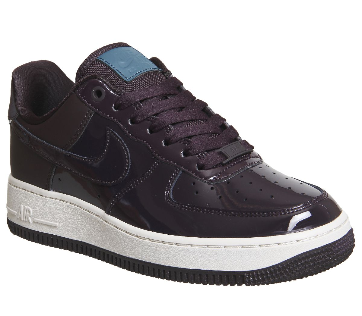 best service 82ff1 649d2 Nike Air Force 1  07 Premium Port Wine Space Blue - Hers trainers