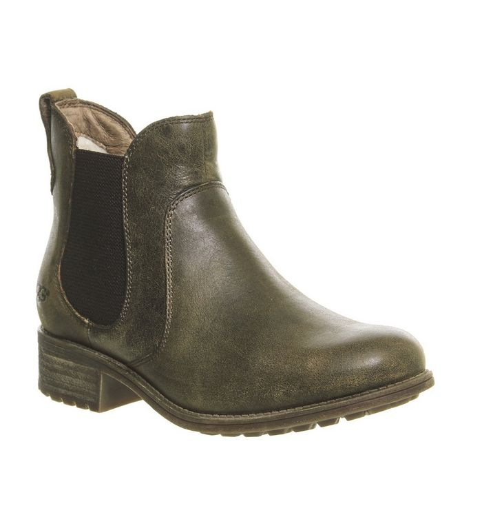 Ugg Bonham Chelsea Boots Stout Leather Ankle Boots