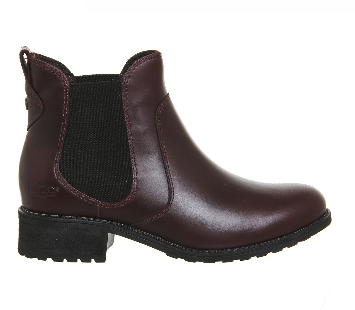 Ugg Bonham Chelsea Boots Cordovan Leather Ankle Boots