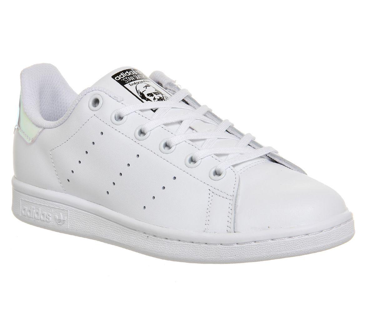 539f6d75feb2 adidas Stan Smith White Metallic Silver White - Unisex