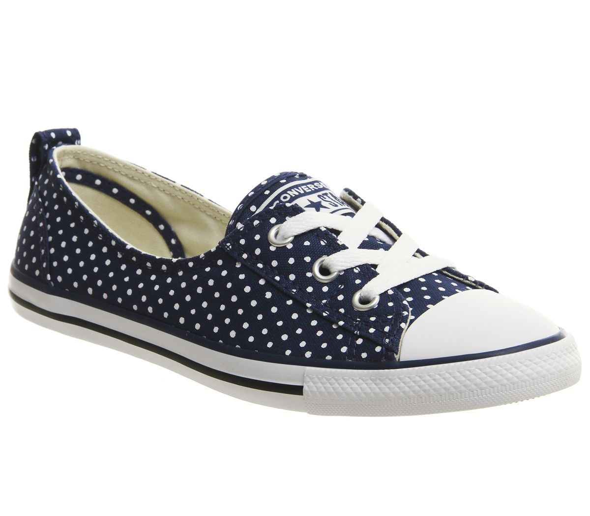 18ff6f4d4462 Converse Ctas Ballet Lace Navy White - Hers trainers