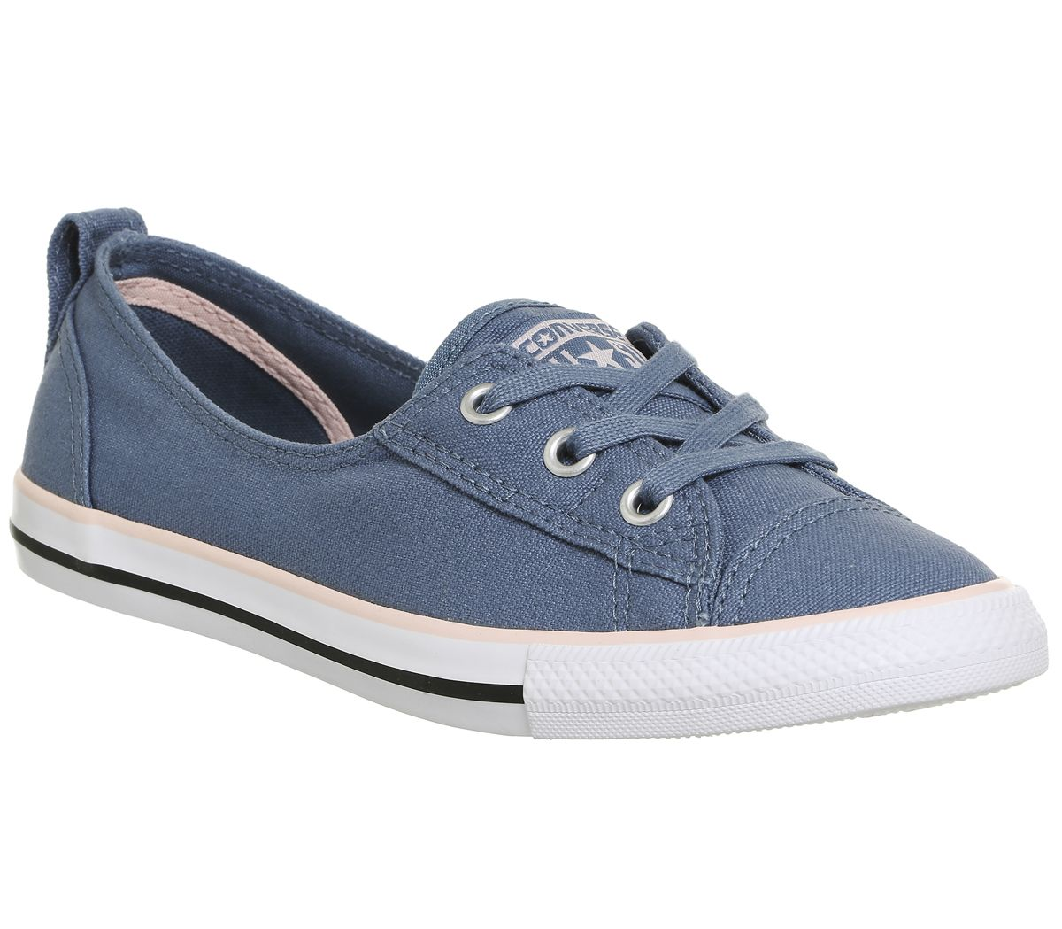 8eba37458294f8 Converse Ctas Ballet Lace Trainers Blue Pink Canvas Exlusive - Hers ...