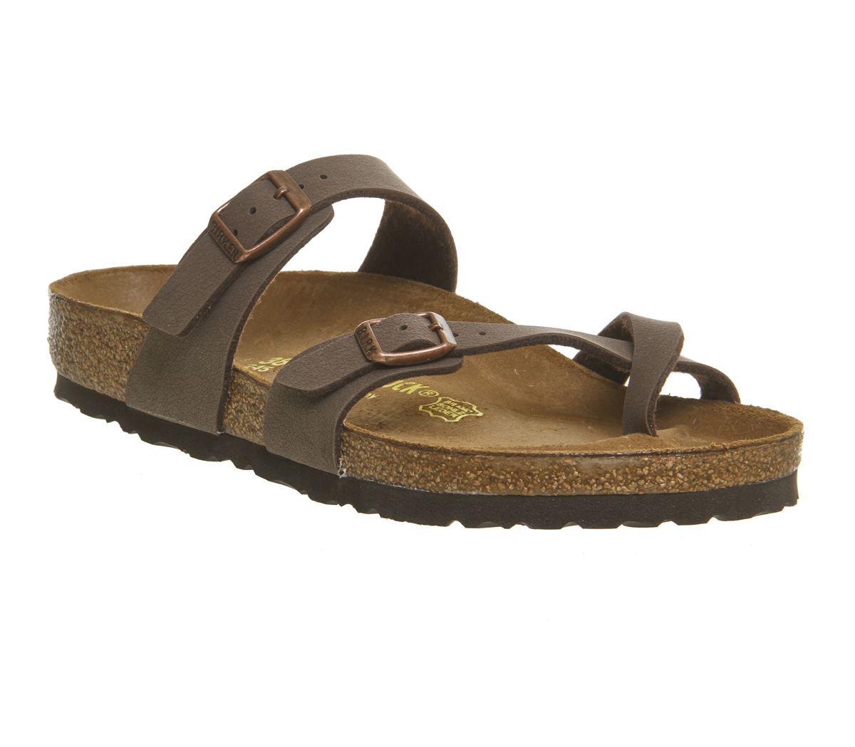 5d10b22bef5 Birkenstock Mayari Cross Strap Sandals Mocha - Sandals