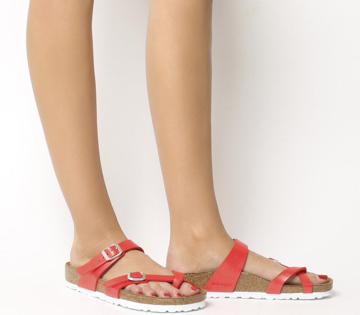 Birkenstock Mayari Cross Strap Sandal Graceful Hibiscus