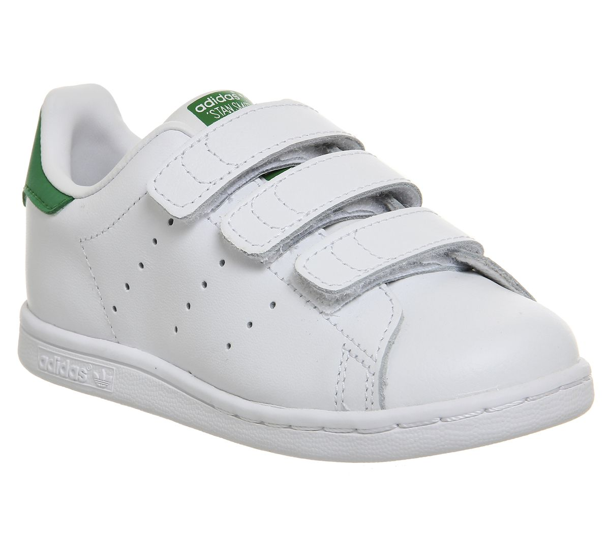 the best attitude 5dfe4 90240 adidas Stan Smith Cf Td 3-9 White Green - Unisex