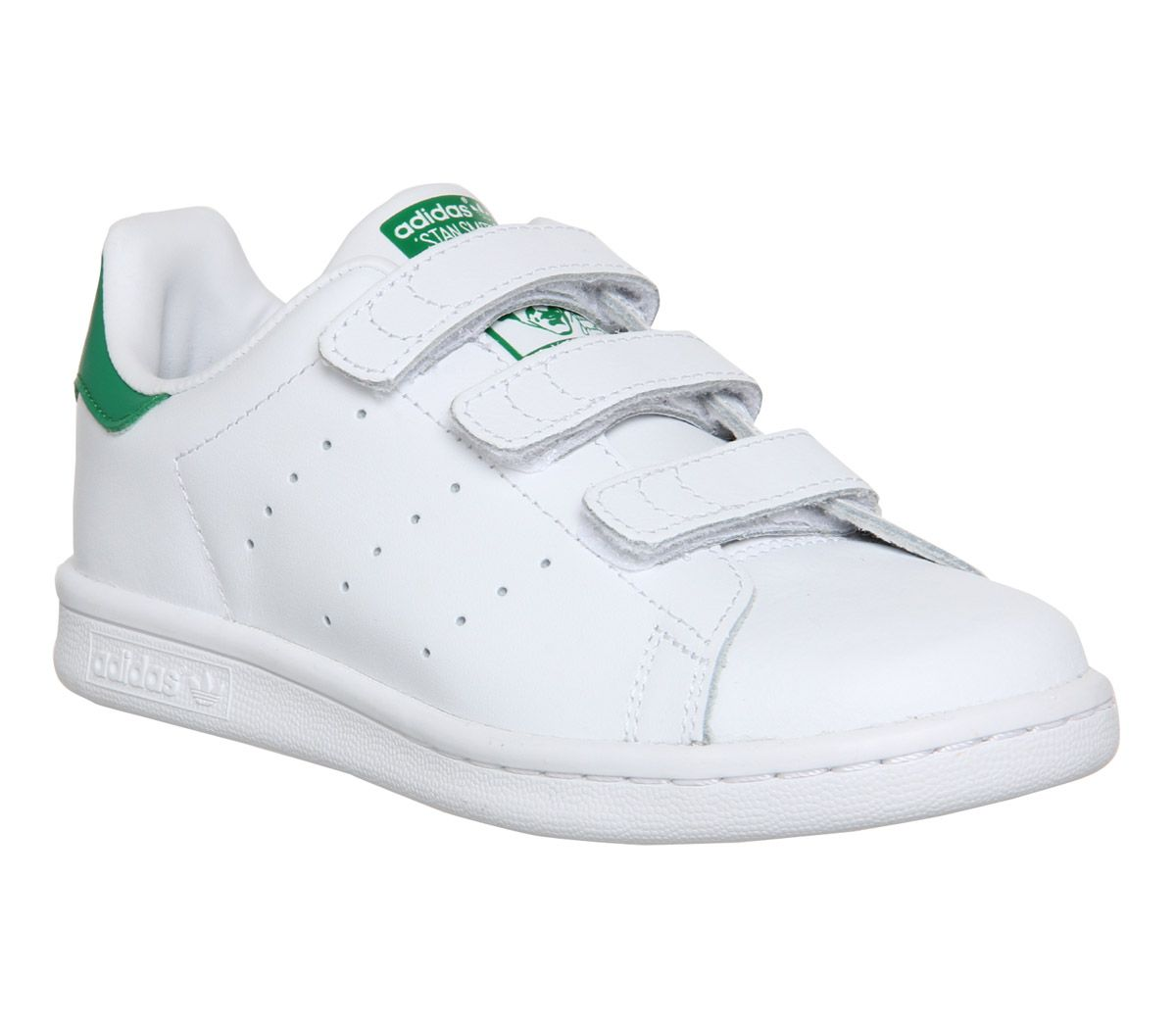 size 40 f8817 3f401 adidas Stan Smith Cf Ps 10-2 White Green - Unisex