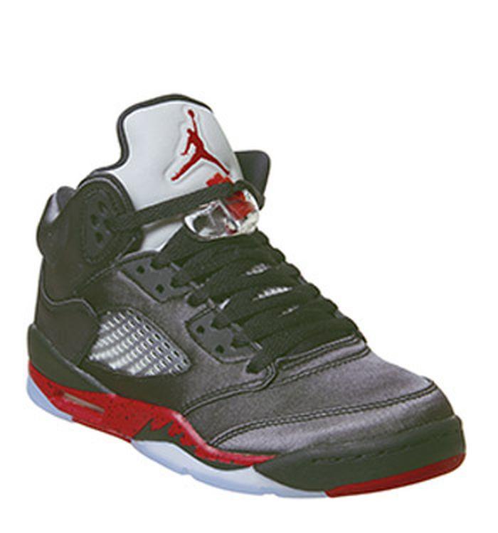 wholesale dealer 7f6af e2a16 Quickbuy. 27-11-2018. Jordan Jordan 5 Retro Gs Black University Red. was £ 100.00 NOW ...