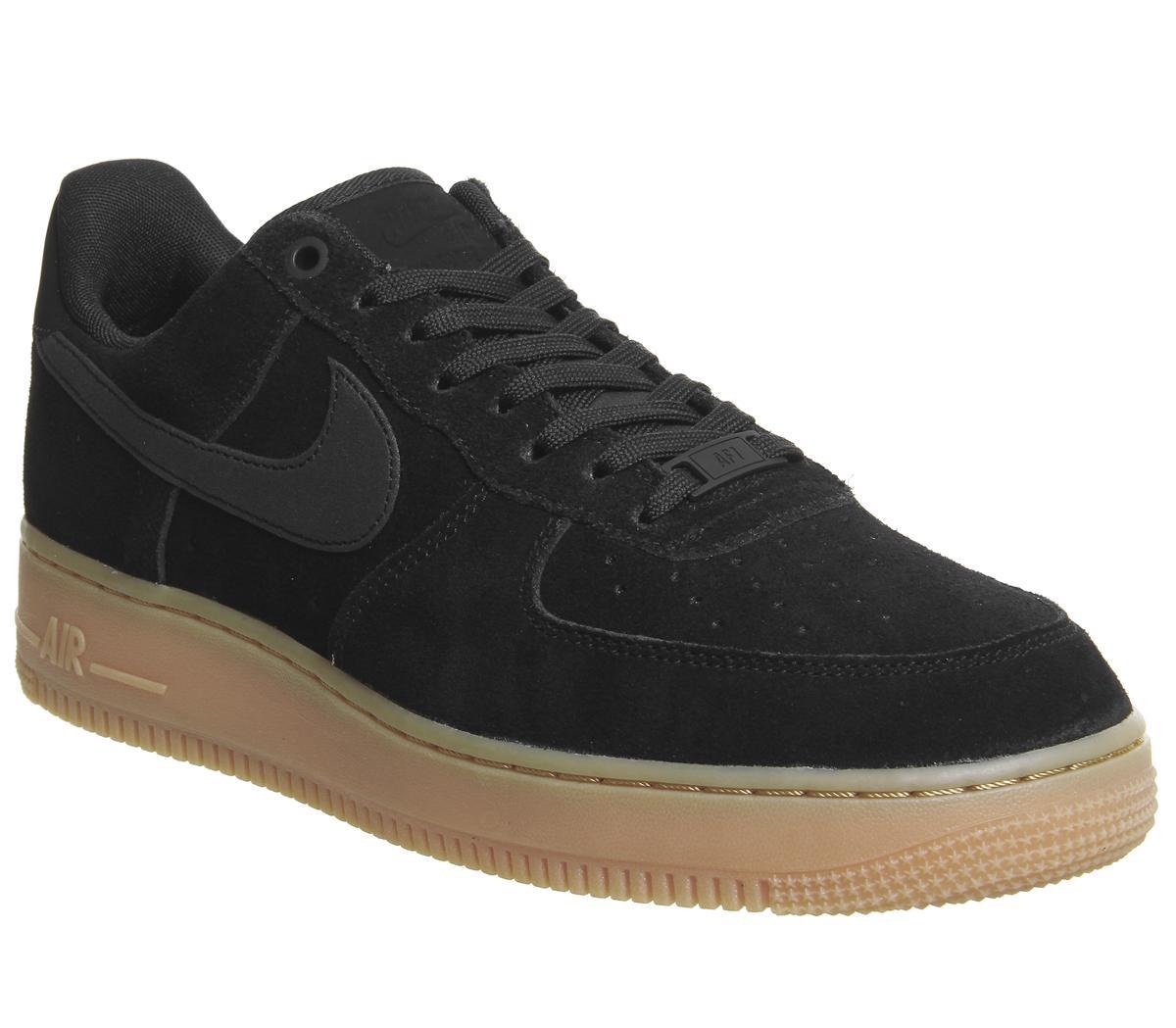 Nike Nike Air Force One Trainers Black
