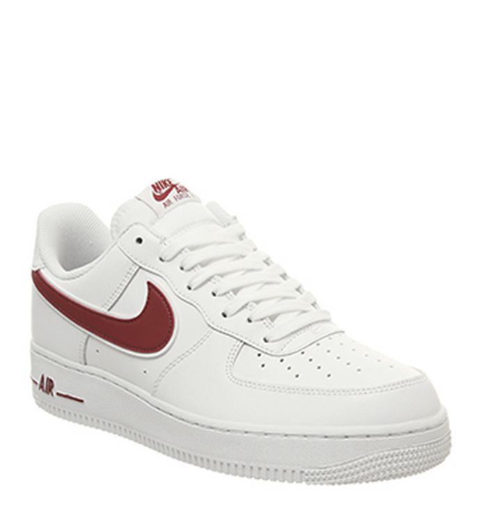 official photos 64daf 9aa78 14-01-2019 · Nike Nike Air Force One Trainers White Gym Red. £74.99.  Quickbuy