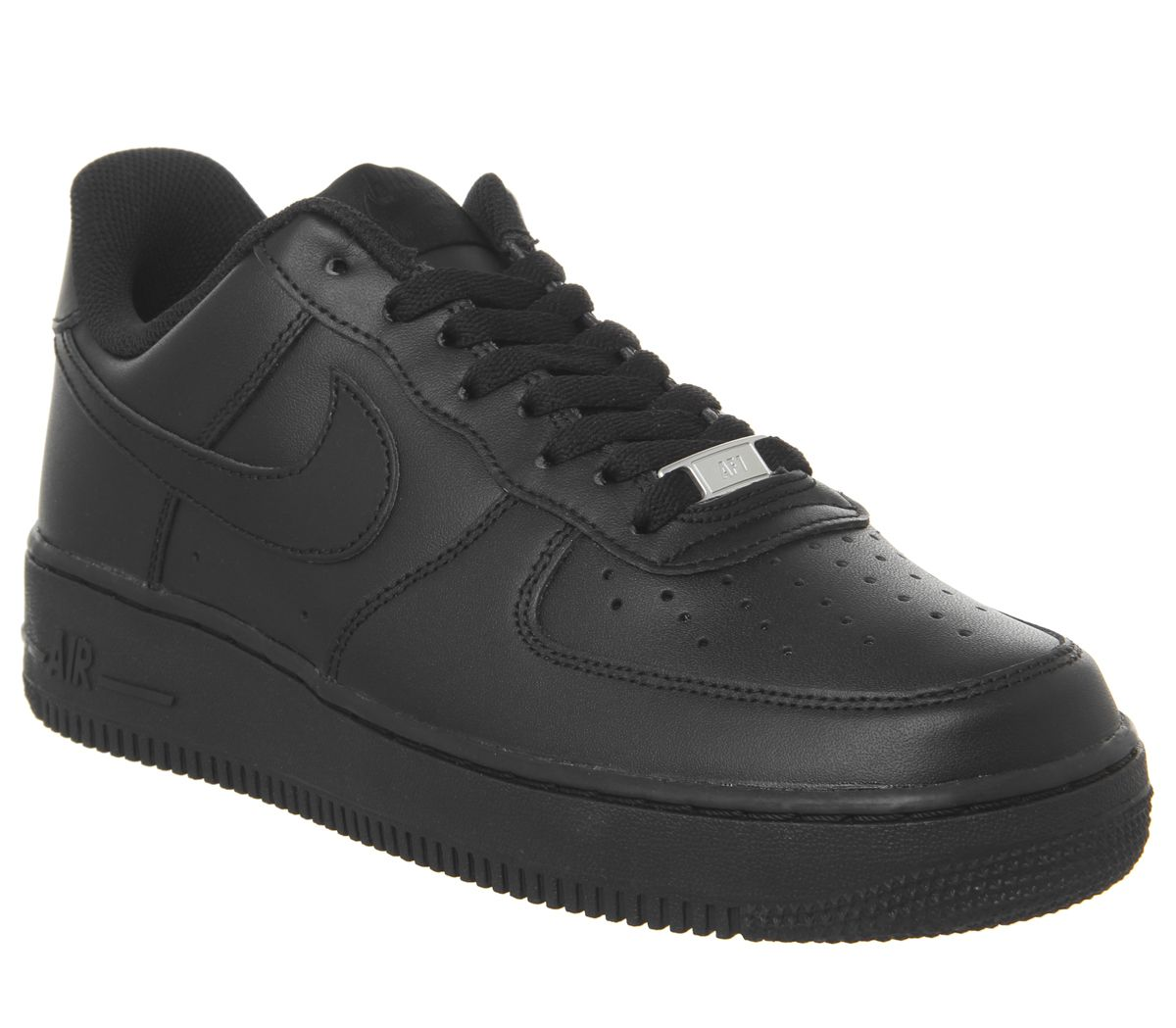 new concept af418 b9abb Nike Air Force 1 Trainers Black - His trainers