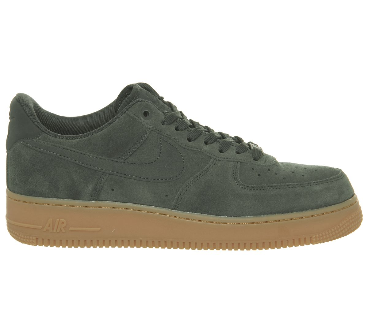 0dc7a8db60cc Nike Nike Air Force One Trainers Outdoor Green Suede Gum - His trainers