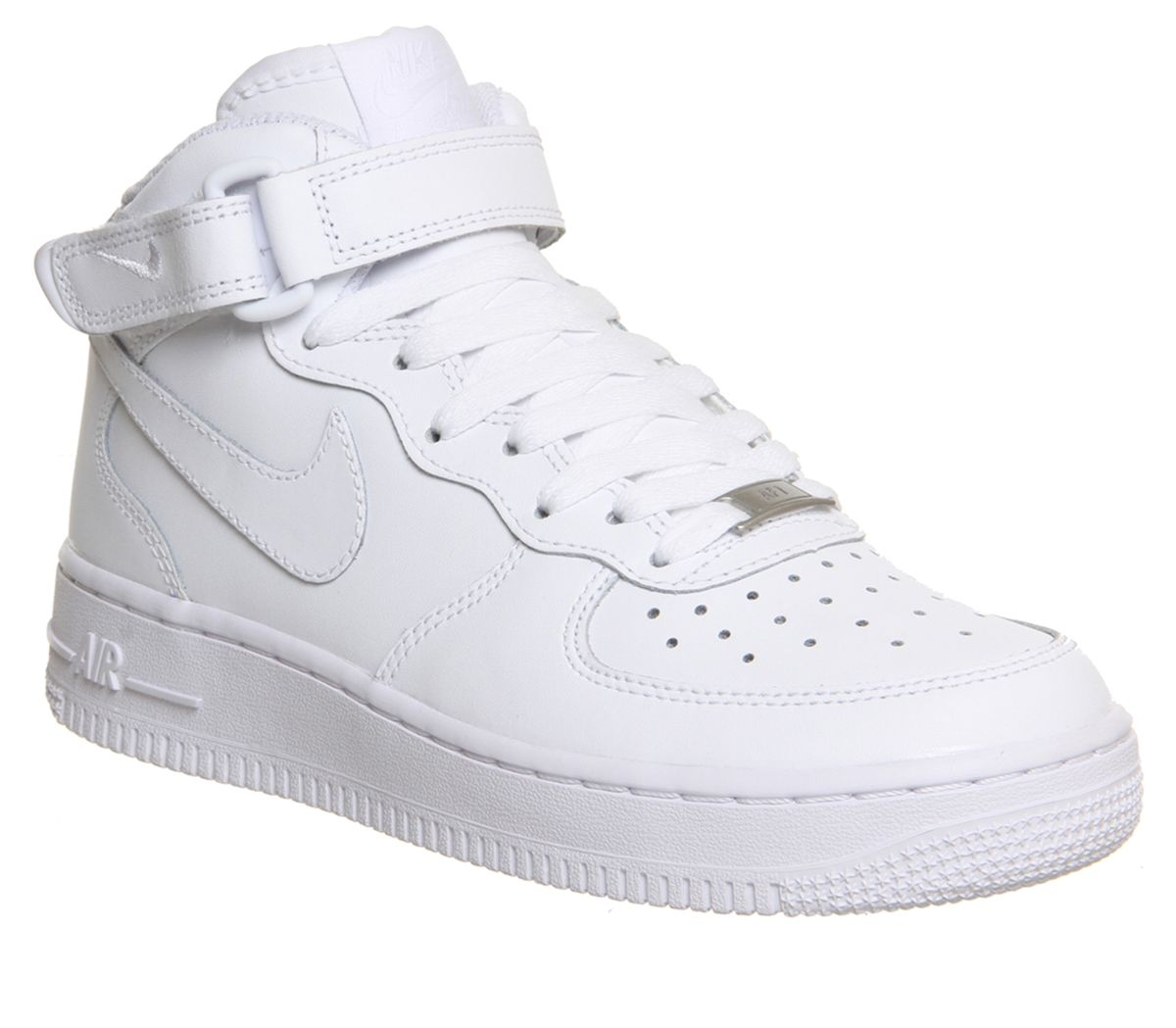 9e471d19d Nike Air Force 1 Mid White - Office Girl