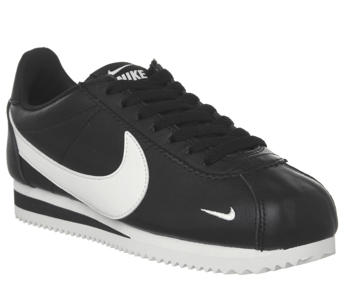 buy popular 2c3ef e2dd9 Nike Classic Cortez Og Trainers Black White - Hers trainers