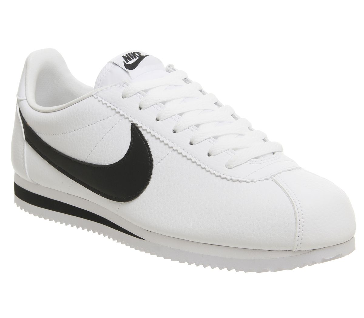 new arrival 98f14 3ba28 Nike Classic Cortez Og White Black Leather - His trainers