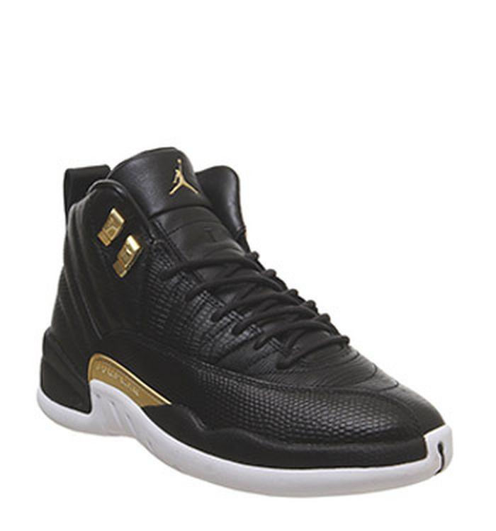 huge discount 04a03 07383 Launching 12-04-2019. Jordan Air Jordan 12 Retro Black Metallic Gold White