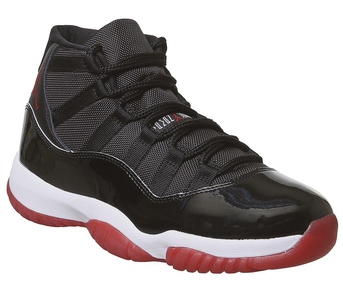 pedir disculpas sanar Transeúnte  Jordan Jordan 11 Retro Trainers Bred Black Red - His trainers