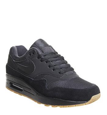 Nike Trainers Mens Black Black Gum Medium Brown 2014406680