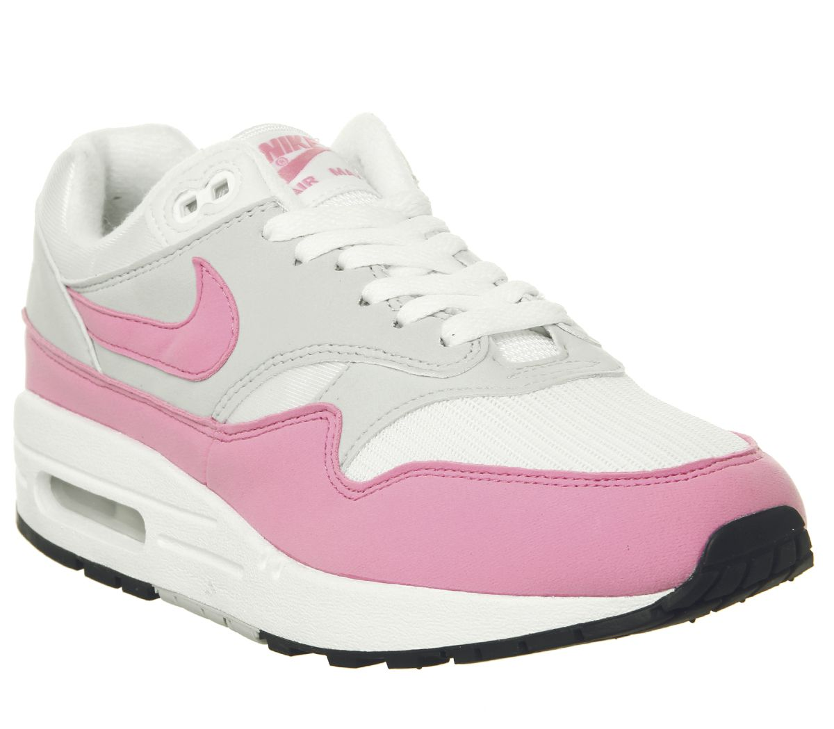 cdc7a3333 Nike Air Max 1 Trainers White Psychic Pink - Hers trainers